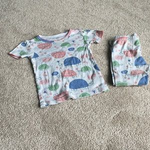 Carter's Turtle Pajama Set 3T